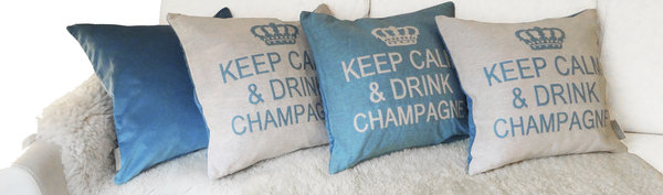Keep calm & drink champagne
