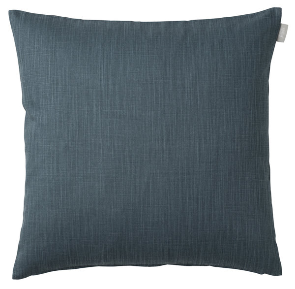 Cushion cover in pigeon blue