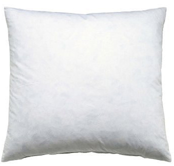 Feather cushion for all 50x50 cushion covers
