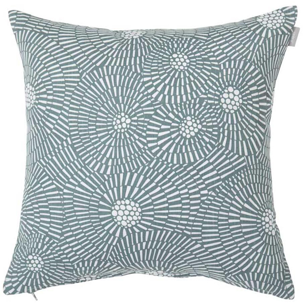 Cushion cover with a graphic pattern Virvelvind