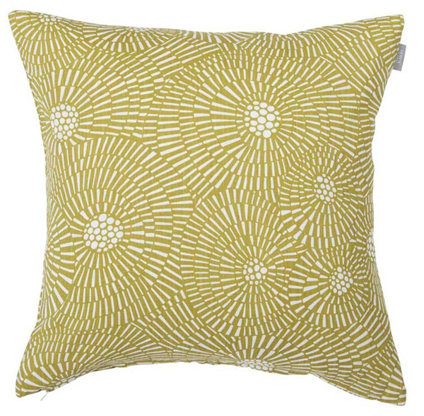 Trendy cushion cover with a graphic pattern Virvelvind