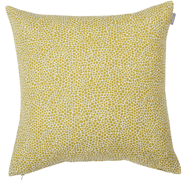 Trendy cushion cover with a graphic pattern Dotte